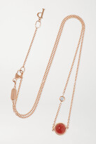 Thumbnail for your product : Piaget Possession 18-karat Rose Gold, Malachite And Diamond Necklace