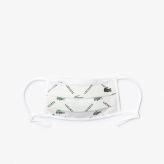 Lacoste L.12.12 Face Protection Mask with Adjustable Straps