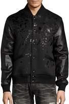 PRPS Men's Break Even Varsity Jacket