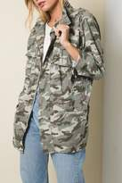 Pretty Little Things Camo Utility Jacket