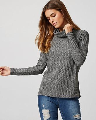 Le Château Cut & Sew Knit Turtleneck Sweater