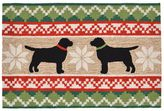Liora Manné Trans Ocean Imports Frontporch Nordic Dogs Indoor Outdoor Rug