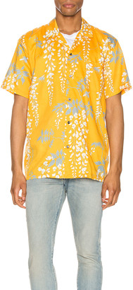 Double Rainbouu Hawaiian Shirt in Over The Falls Turmeric | FWRD