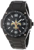 Game Time Unisex NFL-WAR-NO Warrior New Orleans Saints Analog 3-Hand Watch
