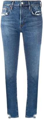 AGOLDE Distressed Skinny Jeans