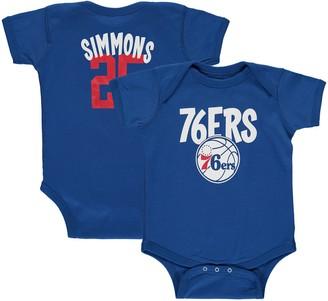Infant Ben Simmons Royal Philadelphia 76ers Name & Number Creeper