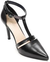 Tommy Hilfiger Final Sale-Tri-Color Ankle Strap Heel