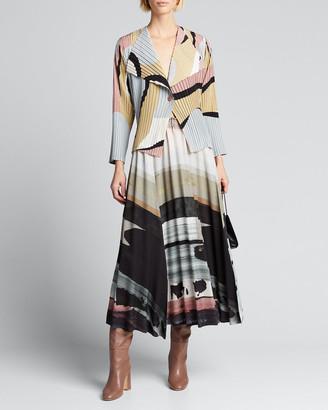 Issey Miyake Panorama Pleated Skirt