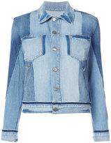 Frame chest pockets denim jacket - women - Cotton - S