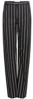 Balenciaga Striped cotton trousers