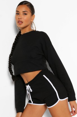boohoo Mix And Match Crop Sweater