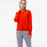 Paul Smith Women's Red Cotton Cardigan