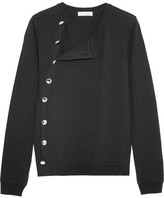 Altuzarra Minamoto Button-detailed Merino Wool Sweater - Black