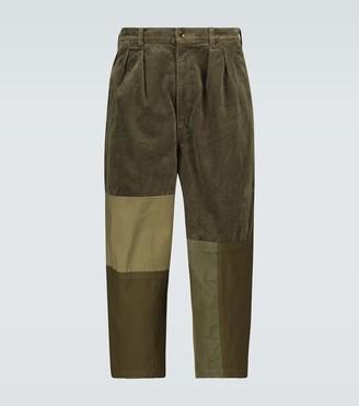 Comme des Garçons Homme Corduroy cropped pants