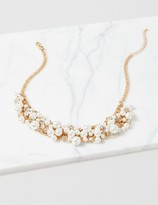 Lane Bryant Faux-Pearl Statement Necklace