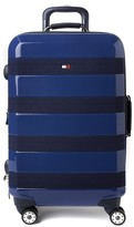 Tommy Hilfiger Rugby Stripe 28 Inch Upright Spinner Suitcase