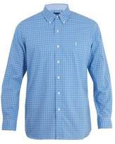 Polo Ralph Lauren Logo-embroidered checked cotton shirt