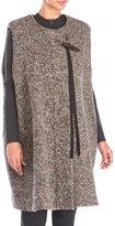 Ter Et Bantine Sleeveless Tweed Overcoat