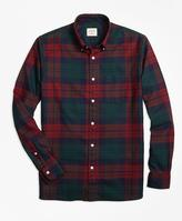 Brooks Brothers Tartan Oxford Sport Shirt