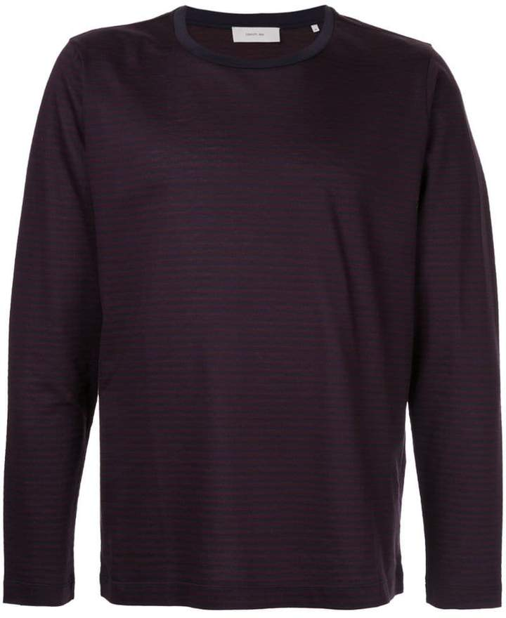 Cerruti long sleeve stripe T-shirt