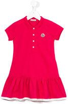 Moncler polo dress - kids - Cotton/Spandex/Elastane - 10 yrs