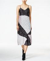 Bar III Printed Slip Dress, Only at Macy's