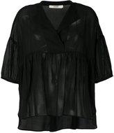 Odeeh oversized peplum blouse