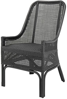 Ctr Imports Albury Chair Solid Black Finish