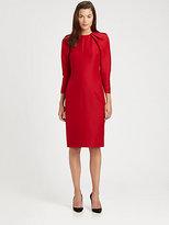 Giambattista Valli Puffed-Sleeve Dress