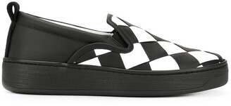 Bottega Veneta Intrecciato Weave Slip-On Sneakers