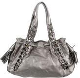 Michael Kors Metallic Chain Shoulder Bag