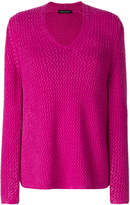 Iris von Arnim v-neck jumper