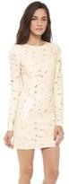 BCBGMAXAZRIA Long Sleeve Cutout Dress