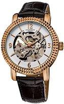 Akribos XXIV Women's AKR503RG Skeleton Automatic Strap Watch