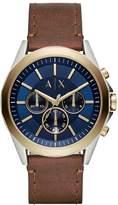 Armani Exchange Chronograph watch braun