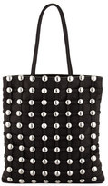 Alexander Wang Dome-Stud Caged Shopper Tote Bag, Black