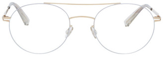 Mykita Gold and Silver Lessrim Tomi Glasses