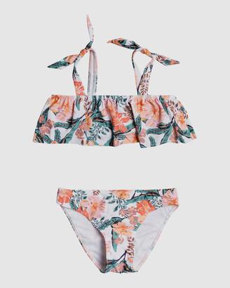 Roxy Girls 8-14 Love Is Big Flutter Bikini Set