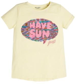 GUESS Big Girls Reversible Sequin Love Shirt