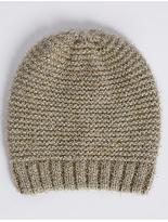 M&S Collection Sparkle Beanie Hat