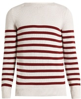 A.p.c. Lord Striped Cotton Sweater