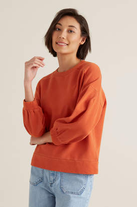 Seed Heritage Blouson Sleeve Sweater
