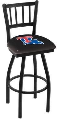 "Holland Bar Stool NCAA 39"" Swivel Bar Stool NCAA Team: Louisiana Tech Bulldogs"