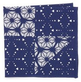 Thomas Mason Kaleidoscope Print Pocket Square