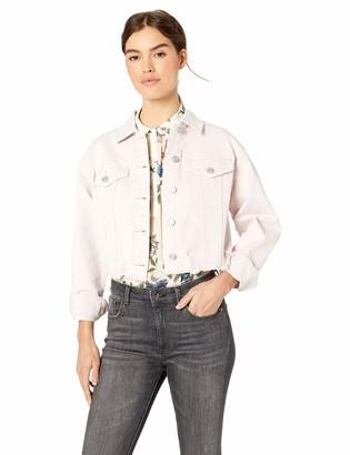 Skinnygirl Women's Crop Denim Jacket