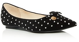 Marc Jacobs Women's The Studded Mouse Pointed-Toe Flats