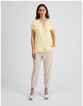 Basque Utility Short Sleeve Shirt