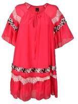 Pinko Women's Pink Cotton Dress.