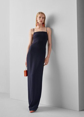 Ralph Lauren Cayson Stretch Cady Gown