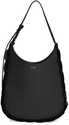 Chloé Small Darryl Leather Hobo Bag